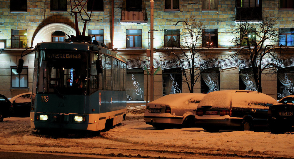 Минский трамвай