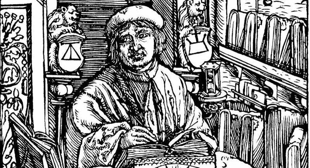 Франциск Скорина 1517 год. Гравюра