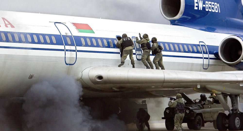 Оперативно-стратегические командно-штабные учения спецслужб стран СНГ Бастион-антитеррор 2008, архивное фото