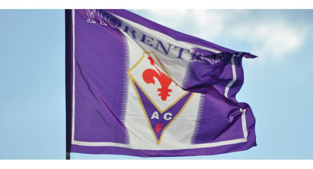 Флаг ФК Фиорентина
