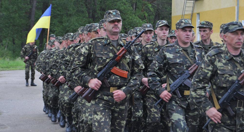 Военнослужащие третьего территориального округа обороны Вооруженных сил Украины