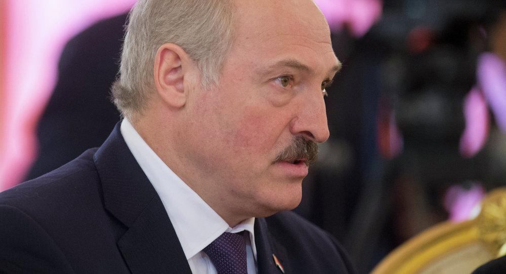 Президент Беларуси Александр Лукашенко,  архивное фото