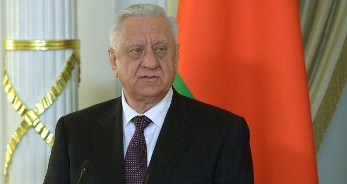 Премьер-министр Беларуси Михаил Мясникович