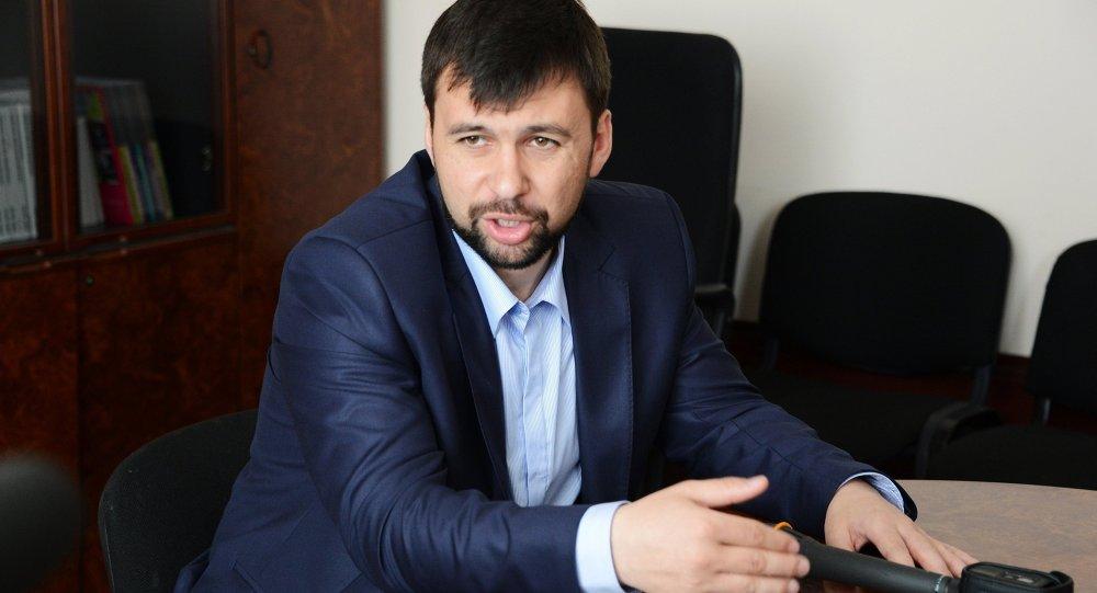 Зампред Народного совета ДНР Денис Пушилин