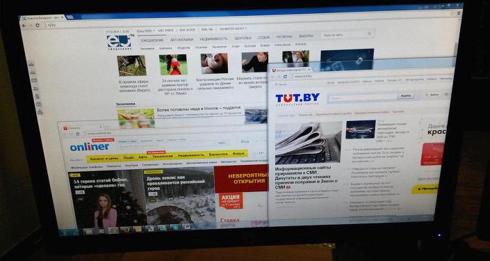 Главные страницы белорусских порталов