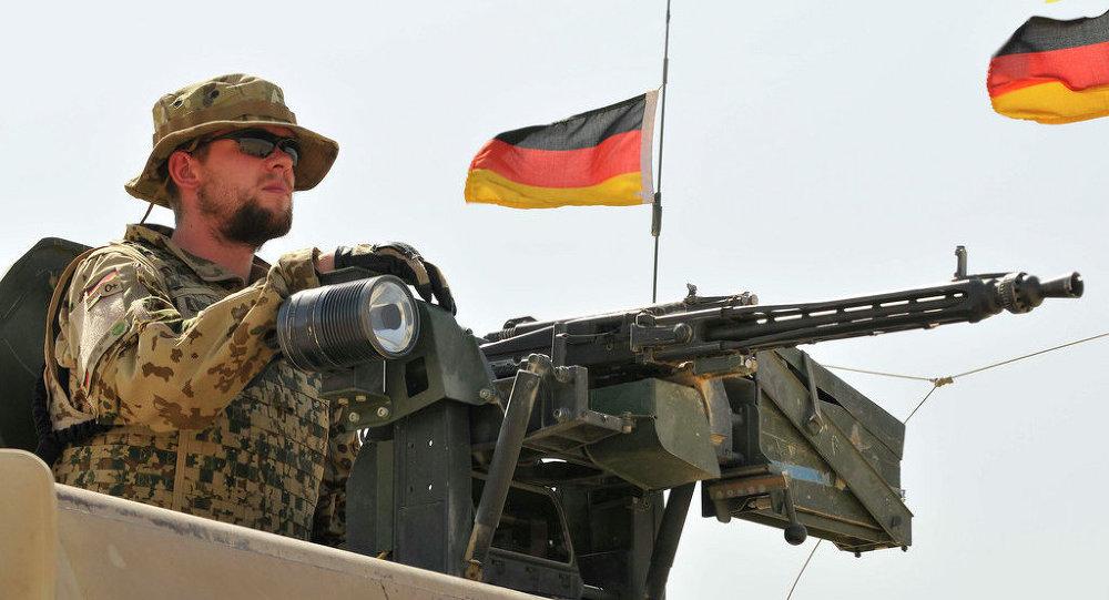 Немецкий солдат из Camp Marmal Force