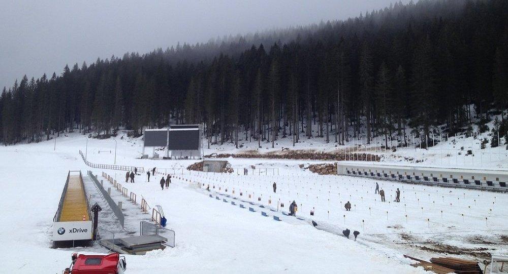 Лыжный стадион в Поклюке