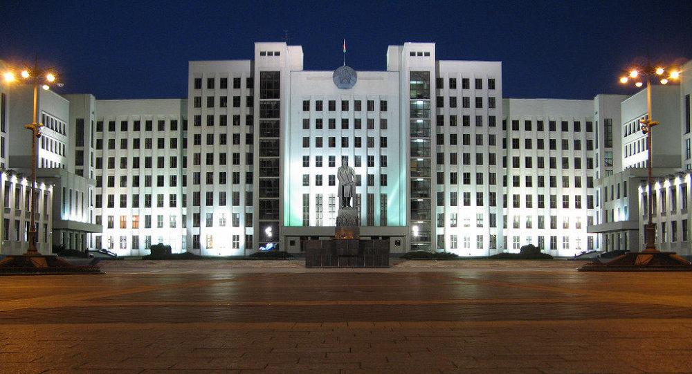Здание белорусского парламента