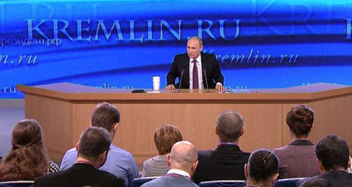 Путин об укреплении рубля, отношениях  с Западом и личной жизни