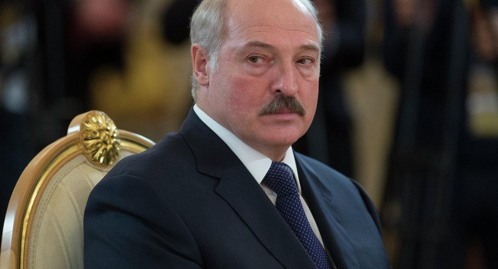 Президент Беларуси Александр Лукашенко на заседании высшего Евразийского экономического совета