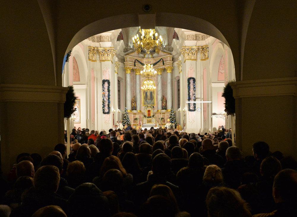 Рождество в архикафедральном соборе Имени Пресвятой Девы Марии