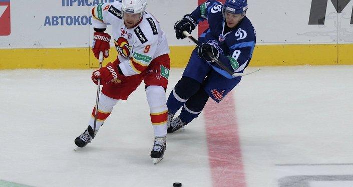 Хоккей. Йокерит -- Динамо (Минск)