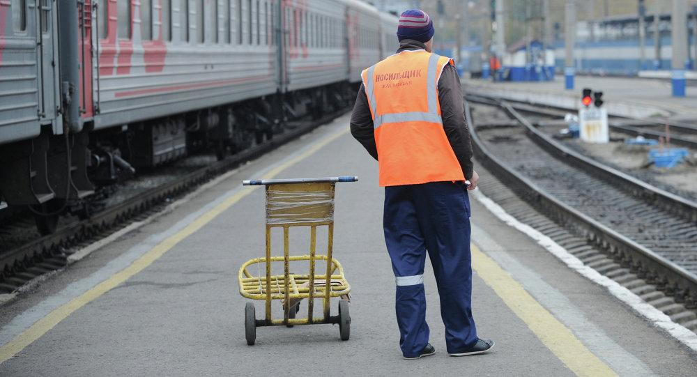 Работа железнодорожного вокзала
