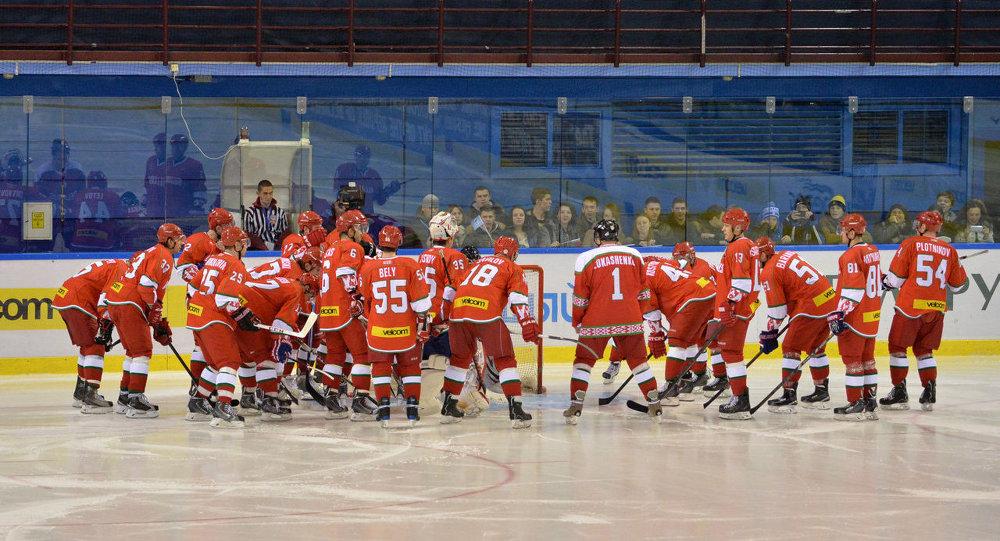 Хоккей. Команда президента Беларуси - сборная ОАЭ