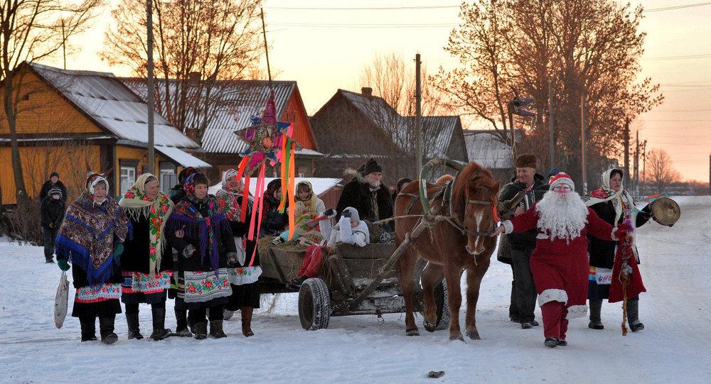 Коляды в Беларуси