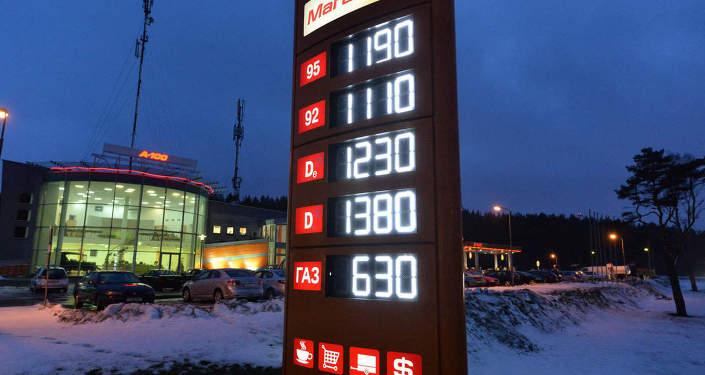 Автозаправка в Минске