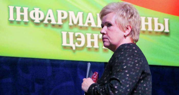 Глава ЦИК Лидия Ермошина, архивное фото
