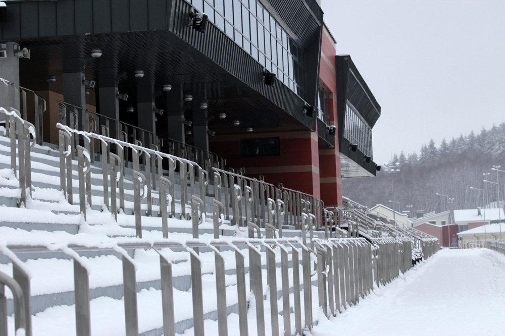 Спорткомплекс Раўбічы пасля рэканструкцыі