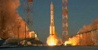 Кадры запуска первого в 2015 году старта  Протон-М