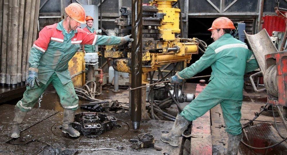 Здабыча нафты ў Беларусі