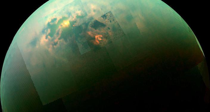Море Кракена на Титане