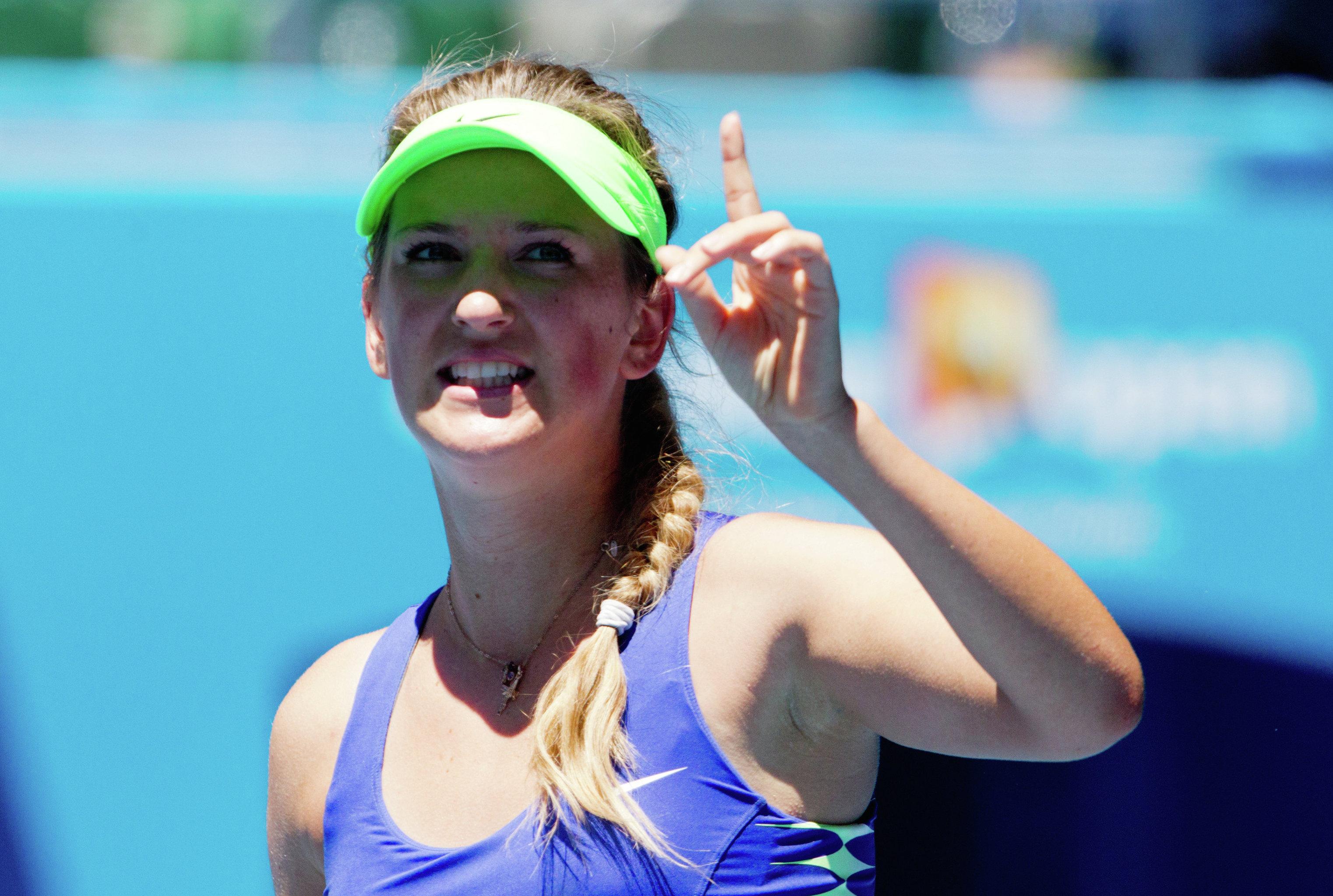 Теннис. Открытый чемпионат Австралии - 2012. Девятый день