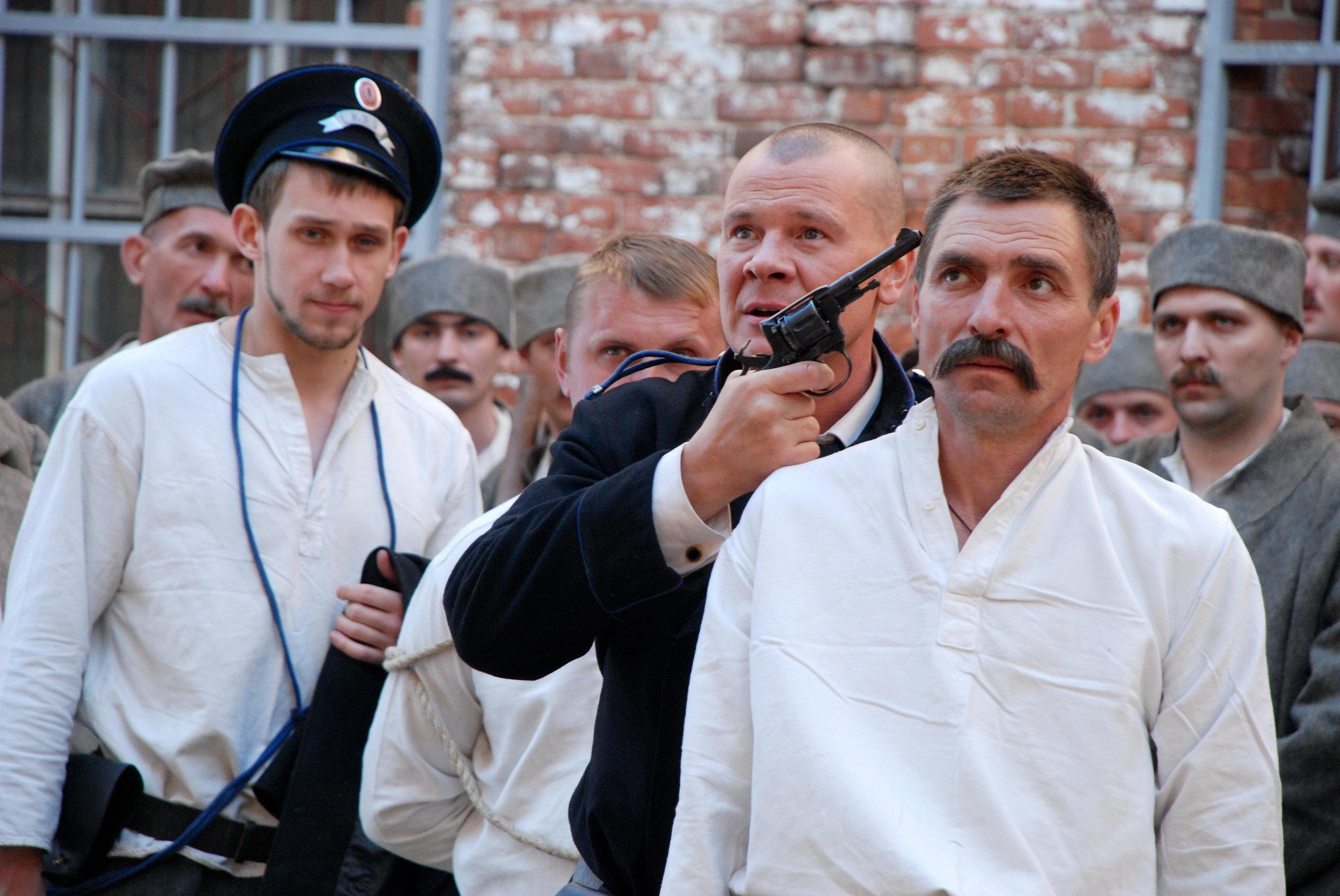 Съемки сериала Котовский