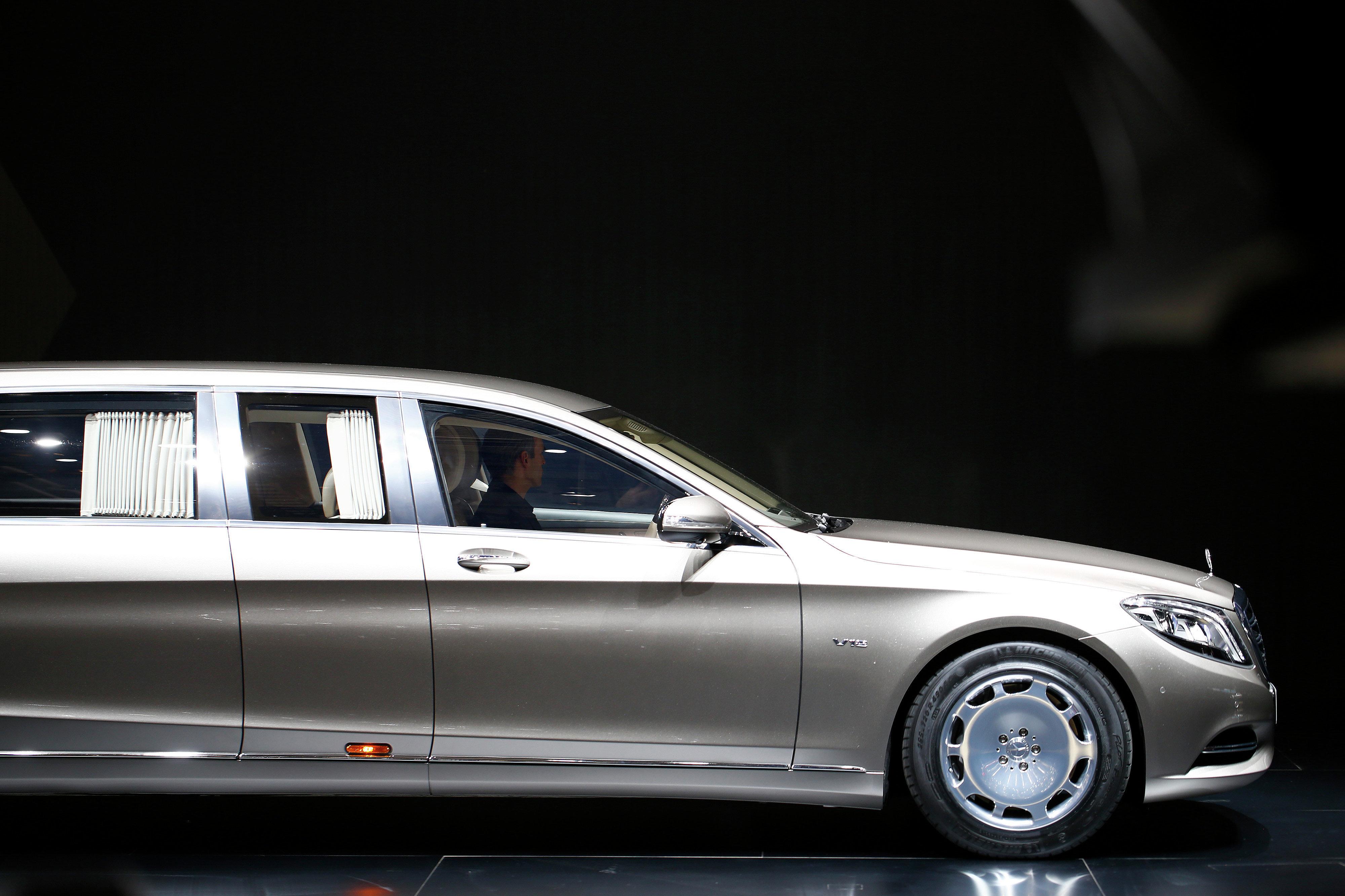 Mercedes-Maybach Pullman в Женеве