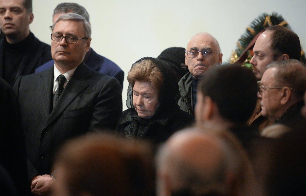 Прощание с политиком Борисом Немцовым в Москве