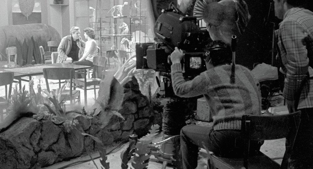 Съемки фильма Гараж