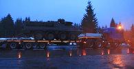 Конвой США из-за сломанного Stryker встал на трассе Польша-Чехия
