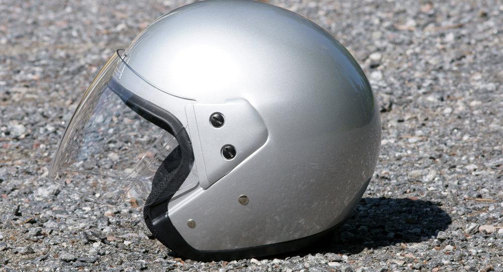 Шлем матацыкліста