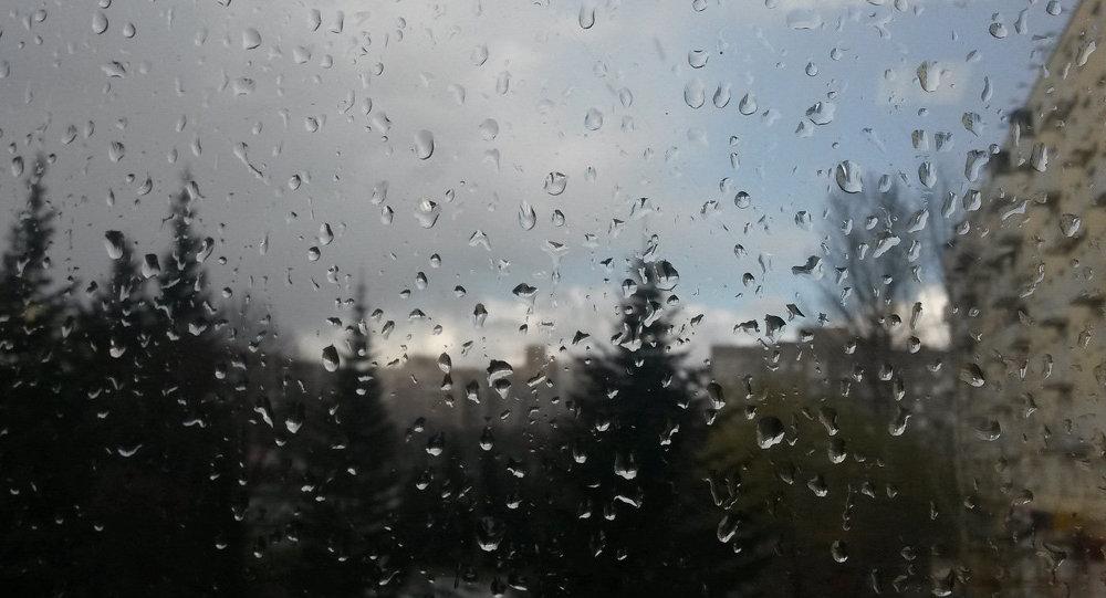 Дождж у Мінску