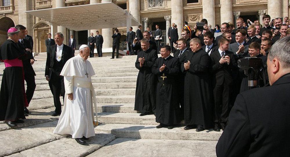 Белорусские католические паломники встретились в Риме с Понтификом