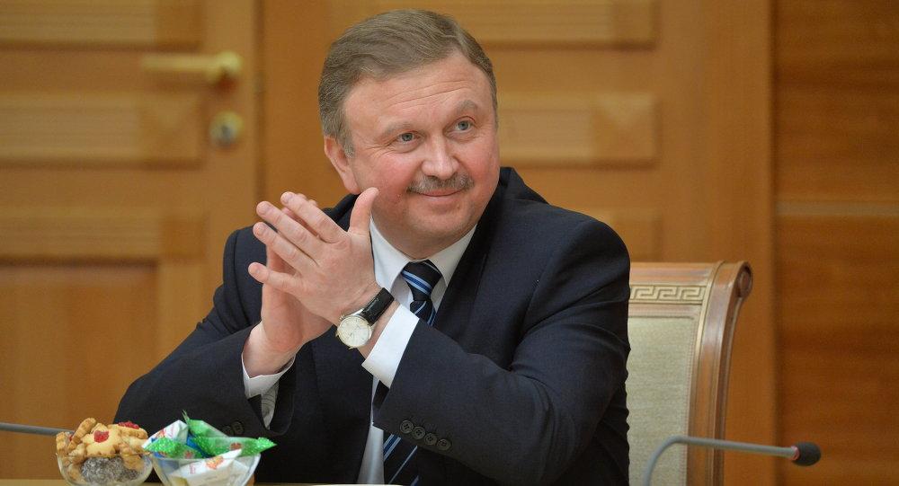 Премьер-министр Республики Беларусь Андрей Кобяков