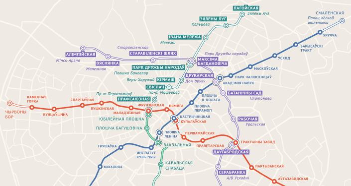 Назвы для новых станцый метро