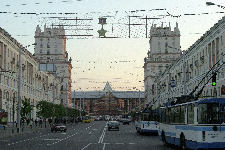 Железнодорожный вокзал в Минске