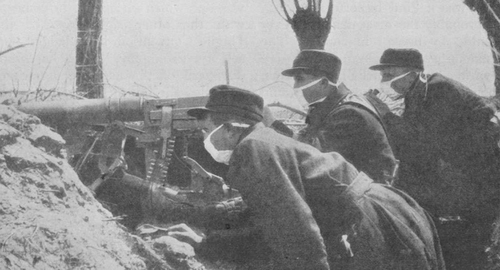 Першая сусветная вайна, хімічная атака 1915 года