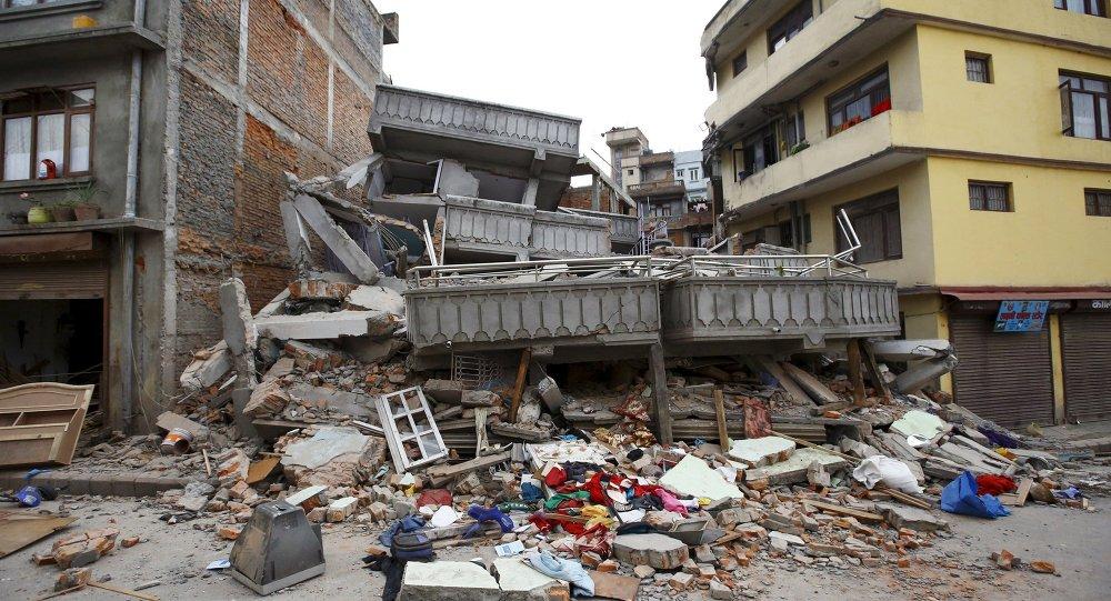 Столица Непала - Катманду - после землетрясения