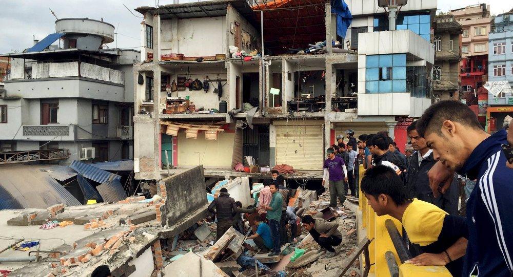 Последствия землетрясения в Катманду, Непал