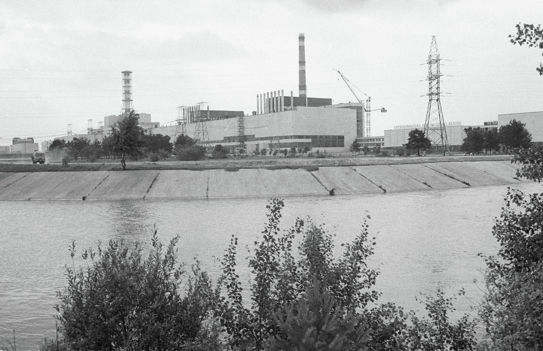 Первая на Украине атомная электростанция в Чернобыле