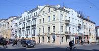 Угол улиц Володарского и Карла Маркса в Минске