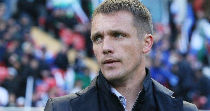 футбольны трэнет Віктар Ганчарэнка