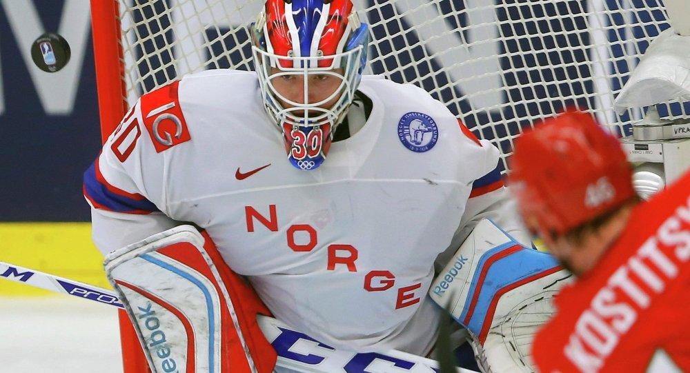 Матч Беларусь- Норвегия на Чемпионате мира по хоккею