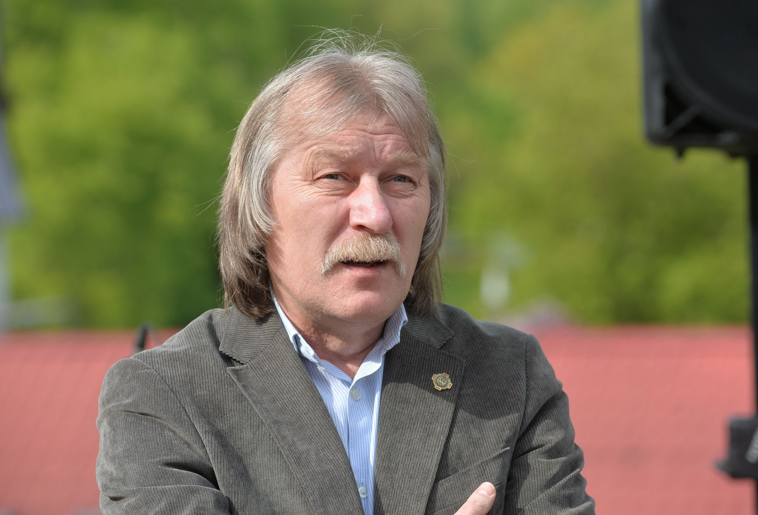 Старшыня Беларускага саюза мастакоў Рыгор Сітніца