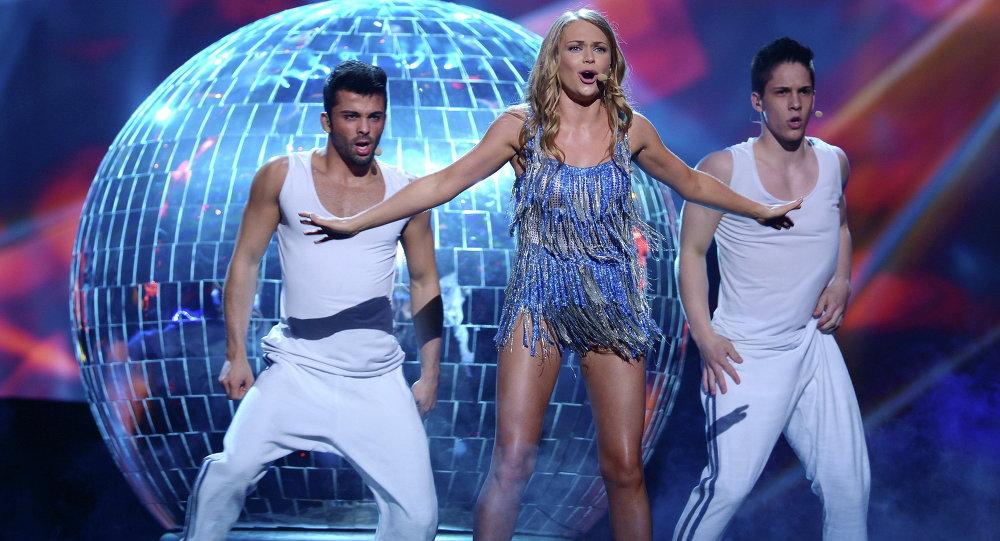 Алена Ланская с песней Solayoh на Евровидении-2013