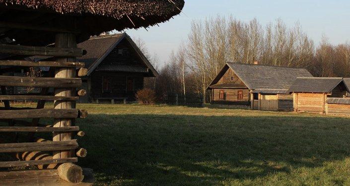 На тэрыторыі Беларускага дзяржаўнага музея народнай архітэктуры і побыту ў Строчыцах