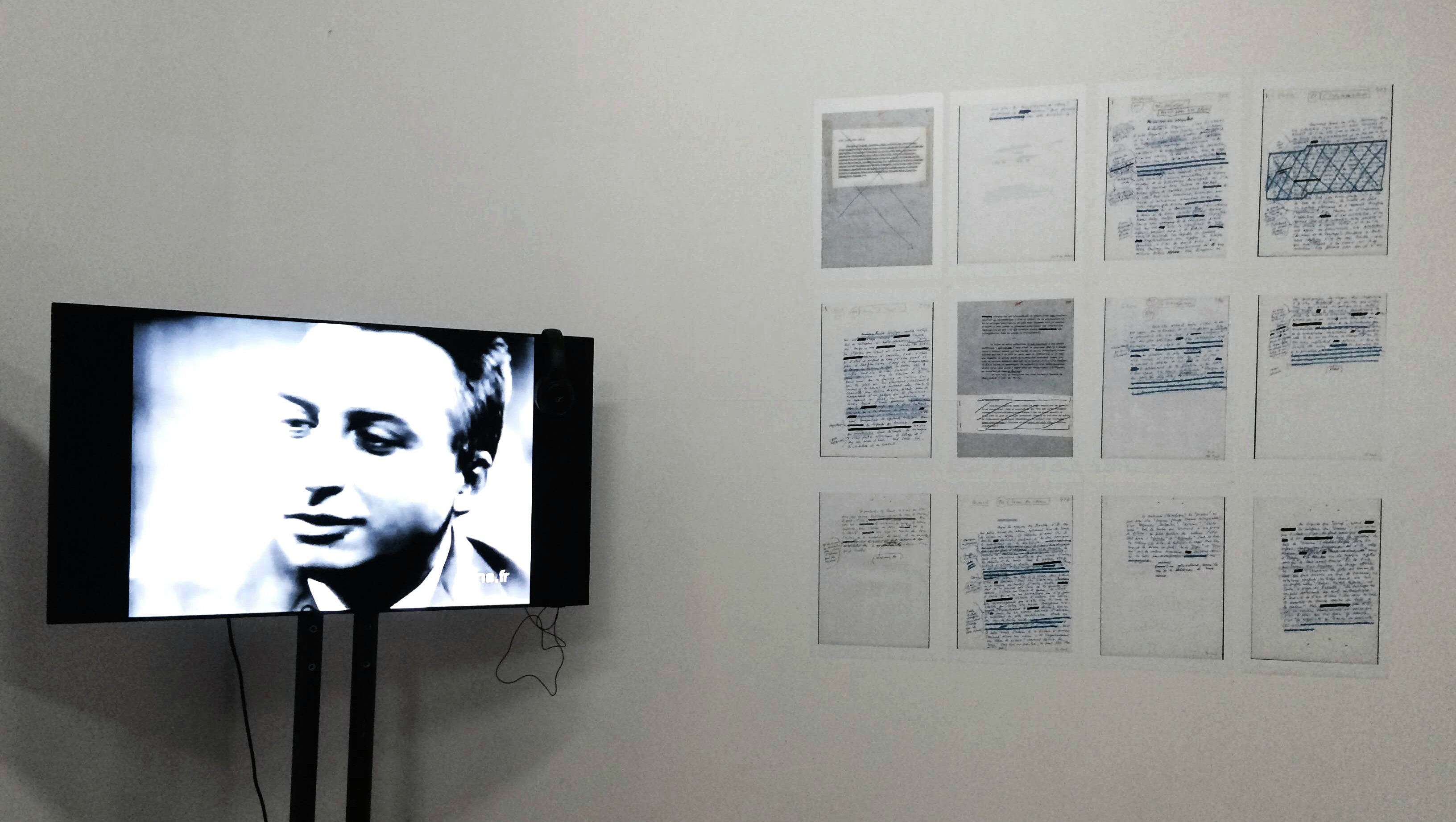 На выставке Ролан Барт. Ключевые слова