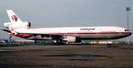 Самалёт авіякампаніі Malaysian Airlines