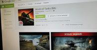 Мабільная прылада World of Tanks Blitz